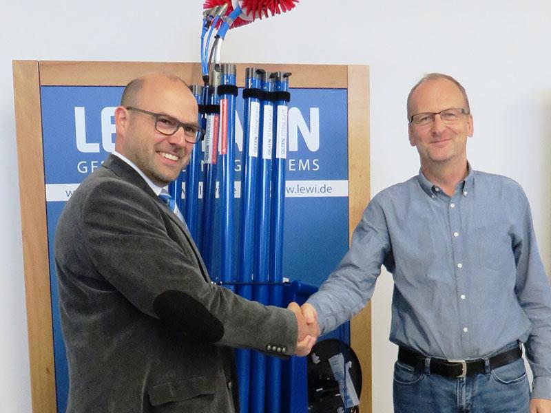 Lehmann präsentiert Solarreinigungslösungen im LEEA, Neustrelitz
